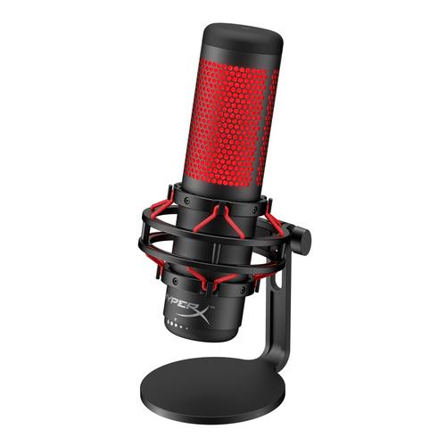 HyperX QuadCast Black, Red Table microphone product photo