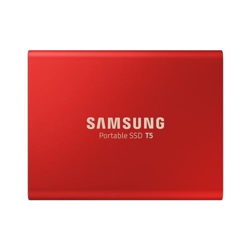 Samsung Portable SSD T5 500 GB Red product photo