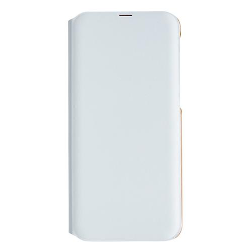 Samsung A40 Wallet Cover White product photo