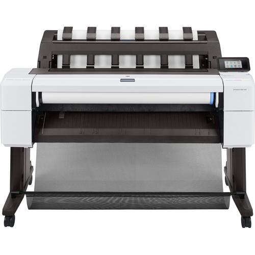 HP Designjet T1600 large format printer Thermal inkjet Colour 2400 x 1200 DPI 914 x 1219 mm Ethernet LAN product photo