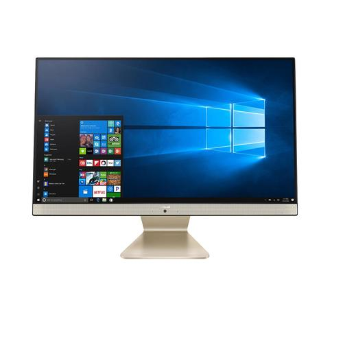 "ASUS Vivo AiO V241FAK-BA049T 60.5 cm (23.8"") 1920 x 1080 pixels 8th gen Intel® Core™ i3 8 GB DDR4-SDRAM 1128 GB HDD+SSD Wi-Fi 5 (802.11ac) Black All-in-One PC Windows 10 Home product photo"