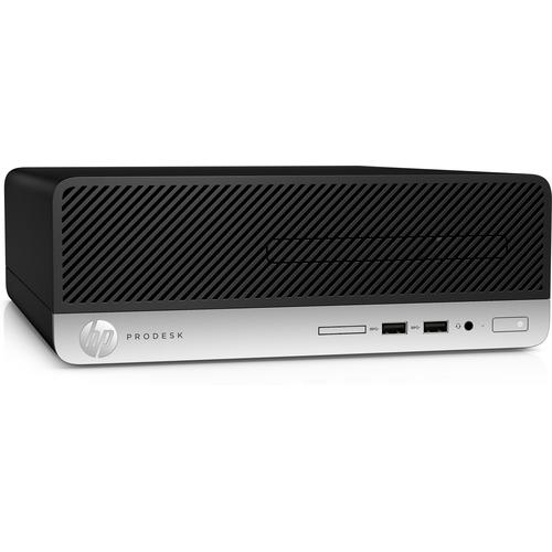 HP ProDesk 400 G6 9th gen Intel® Core™ i5 i5-9500 8 GB DDR4-SDRAM 256 GB SSD Black SFF PC product photo  L