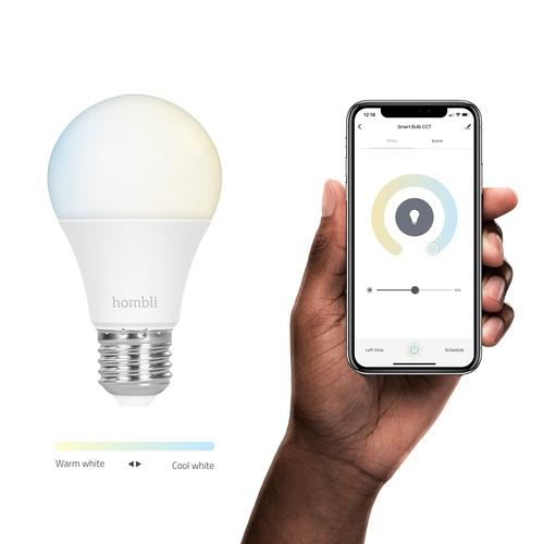 Hombli Smart Bulb (9W) CCT (E27) White Wi-Fi product photo