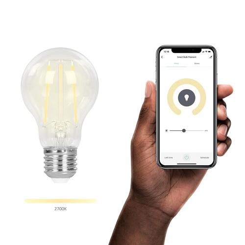Hombli Smart Bulb (7W) Filament (E27) Transparent Wi-Fi product photo