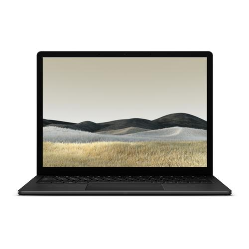 "Microsoft Surface Laptop 3 Notebook Black 34.3 cm (13.5"") 2256 x 1504 pixels Touchscreen 10th gen Intel® Core™ i7 16 GB LPDDR4x-SDRAM 512 GB SSD Wi-Fi 6 (802.11ax) Windows 10 Pro product photo"