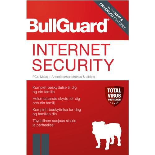 BullGuard Internet Security 2020 Base license 1 year(s) German product photo