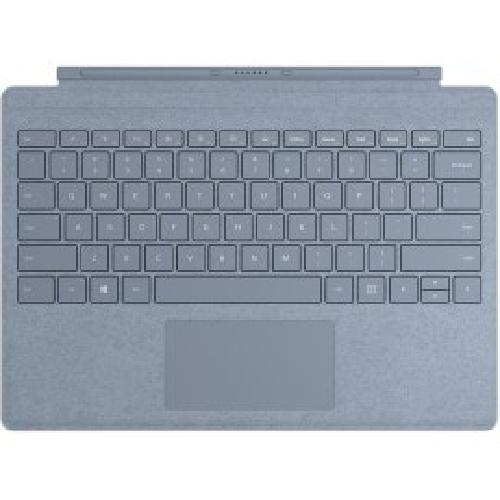 Microsoft Surface Pro Signature Type Cover mobile device keyboard QWERTY English Blue product photo