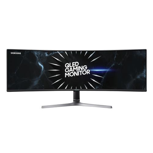 "Samsung C49RG90SSU computer monitor 124.5 cm (49"") 5120 x 1440 pixels UltraWide Dual Quad HD QLED Curved Grey product photo"