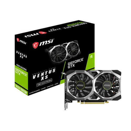 MSI GeForce GTX 1650 SUPER VENTUS XS OC NVIDIA 4 GB GDDR6 product photo