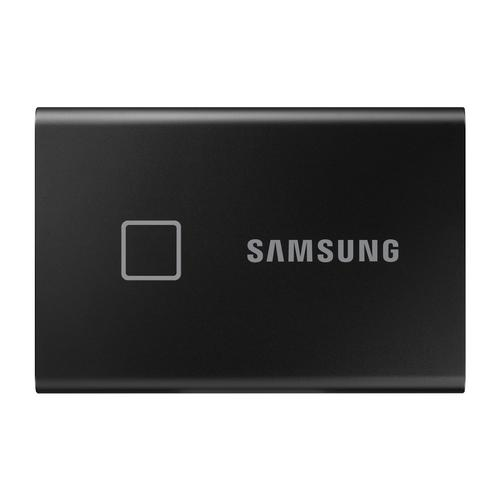 Samsung Portable SSD T7 Touch 500GB – Black product photo