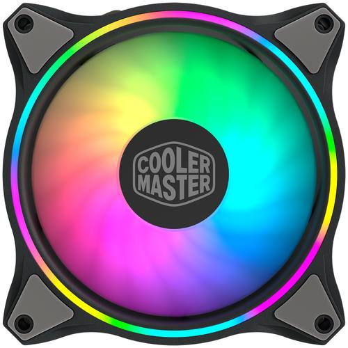 Cooler Master MasterFan MF120 Halo 3in1 Computer case Fan 12 cm Black, Grey product photo