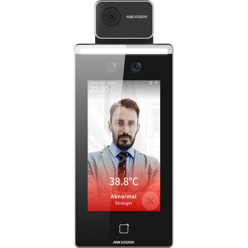 "Hikvision Digital Technology DS-K1TA70MI-T face recognitional terminal 2 MP 17.8 cm (7"") Black product photo"