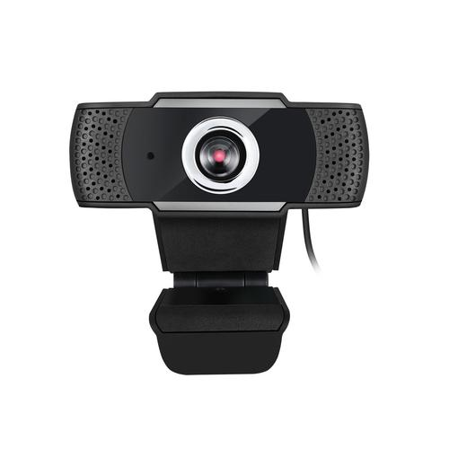 Adesso CyberTrack H4 webcam 2.1 MP 1920 x 1080 pixels USB 2.0 Black, Silver product photo