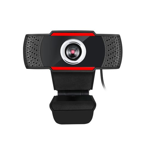 Adesso CyberTrack H3 webcam 1.3 MP 1280 x 720 pixels USB 2.0 Black, Red product photo