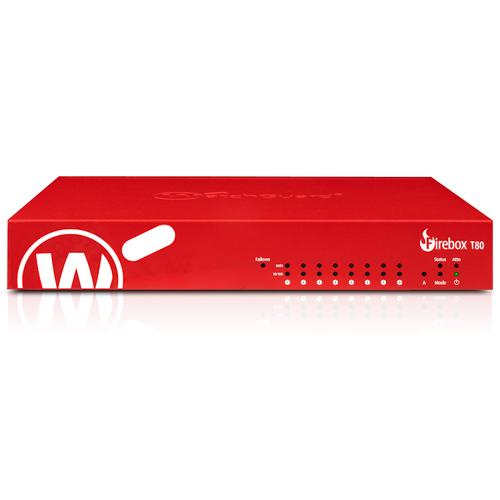 WatchGuard Firebox T80 hardware firewall 631 Mbit/s product photo