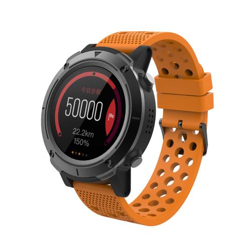 "Denver SW-510ORANGE smartwatch 3.3 cm (1.3"") Black GPS (satellite) product photo"