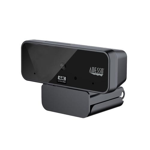 Adesso CyberTrack H6 webcam 8 MP 3880 x 2160 pixels USB 2.0 Black product photo