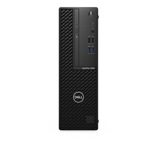 DELL OptiPlex 3080 i5-10500 SFF 10th gen Intel® Core™ i5 8 GB DDR4-SDRAM 256 GB SSD Windows 10 Pro PC Black product photo