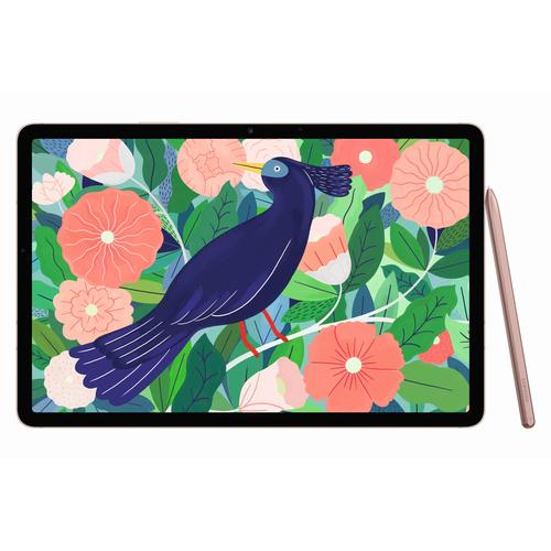 "Samsung Galaxy Tab S7 SM-T870N 256 GB 27.9 cm (11"") Qualcomm Snapdragon 8 GB Wi-Fi 6 (802.11ax) Bronze product photo"