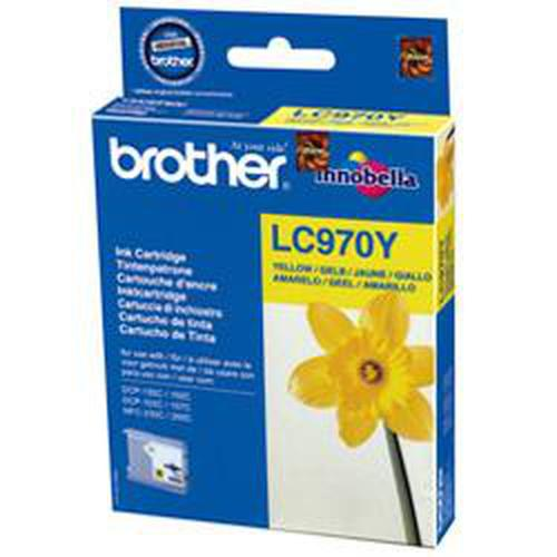 Brother LC-970YBP ink cartridge Original Yellow 1 pc(s) product photo  L