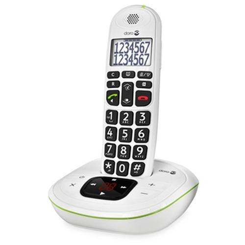 Doro PhoneEasy 115 DECT telephone White Caller ID product photo