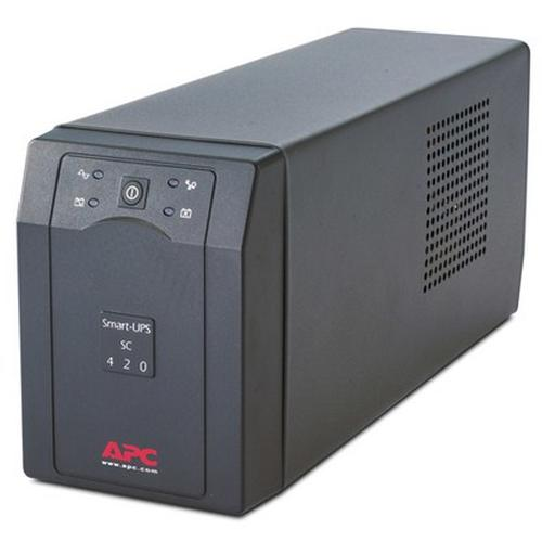 APC Smart-UPS uninterruptible power supply (UPS) Line-Interactive 420 VA 260 W 4 AC outlet(s) product photo