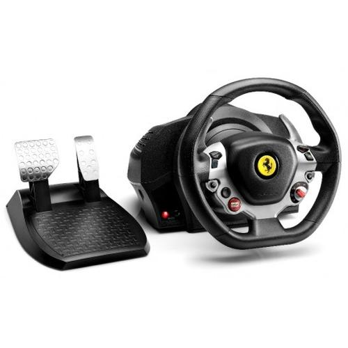 Thrustmaster TX Racing Wheel Ferrari 458 Italia Edition Steering wheel + Pedals PC,Xbox One Black,Silver product photo