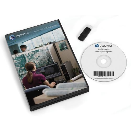 HP DesignJet PostScript/PDF Upgrade Kit product photo  L