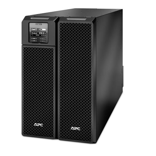 APC Smart-UPS On-Line uninterruptible power supply (UPS) Double-conversion (Online) 8000 VA 8000 W 10 AC outlet(s) product photo