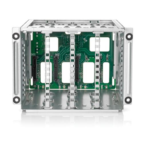 Hewlett Packard Enterprise ML350 Gen9 8 Small Form Factor (SFF) Hard Drive Cage Kit Carrier panel product photo