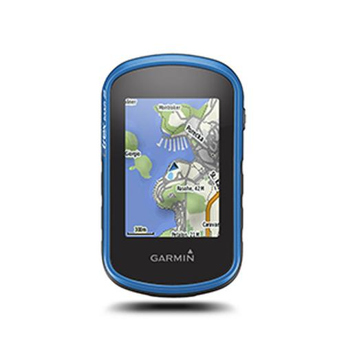 "Garmin eTrex Touch 25 navigator 6.6 cm (2.6"") Touchscreen TFT Handheld Black, Blue 159 g product photo"