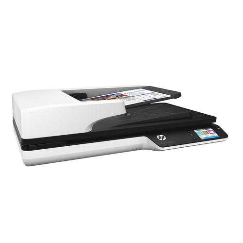 HP Scanjet Pro 4500 fn1 1200 x 1200 DPI Flatbed & ADF scanner Grey A4 product photo
