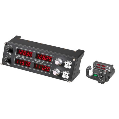 Logitech Pro Flight Radio Panel Flight Sim product photo