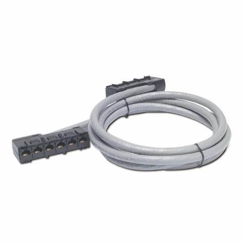 APC DDCC5E CAT5e UTP 6x RJ-45 networking cable 2.74m grey product photo