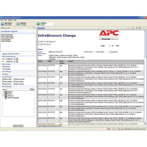 APC AP9710 service management software product photo
