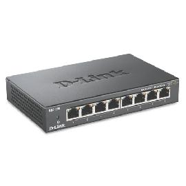 D-Link DGS-108 Black product photo