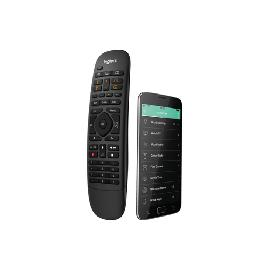 Logitech Harmony Companion remote control IR Wireless/Wi-Fi Audio,CABLE,DVR,Game console,Home cinema system,PC,Smartphone,TV,Tablet Press buttons product photo