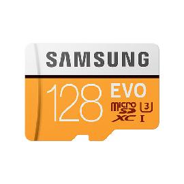 Samsung MB-MP128G memory card 128 GB MicroSDXC Class 10 UHS-I product photo