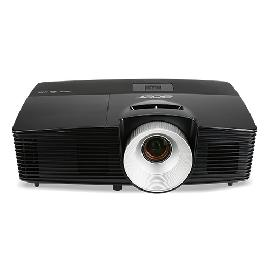 Acer X1226H data projector 4000 ANSI lumens DLP XGA (1024x768) Ceiling-mounted projector Black product photo