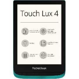 Pocketbook Touch Lux 4 e-book reader Touchscreen 8 GB Wi-Fi Green product photo