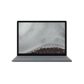 "Microsoft Surface Laptop 2 Platinum Notebook 34.3 cm (13.5"") 2256 x 1504 pixels Touchscreen 8th gen Intel® Core™ i7 16 GB 512 GB SSD Wi-Fi 5 (802.11ac) Windows 10 Pro product photo"