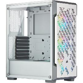 Corsair iCUE 220T RGB Airflow Midi Tower White product photo
