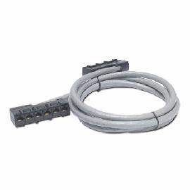 APC DDCC5E CAT5e UTP 6x RJ-45 networking cable 7m grey product photo