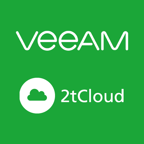Veeam via 2tCloud product photo