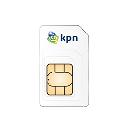 KPN Prepaid 3in1 USIM inc 1GB product photo