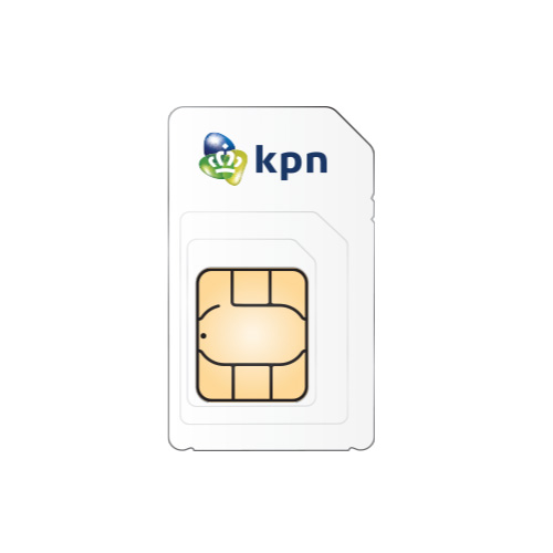KPN Prepaid 3in1 USIM inc 1GB product photo  L
