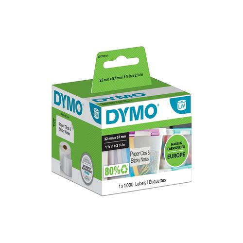 DYMO LW - Universele labels - 32 x 57 mm - S0722540 productfoto