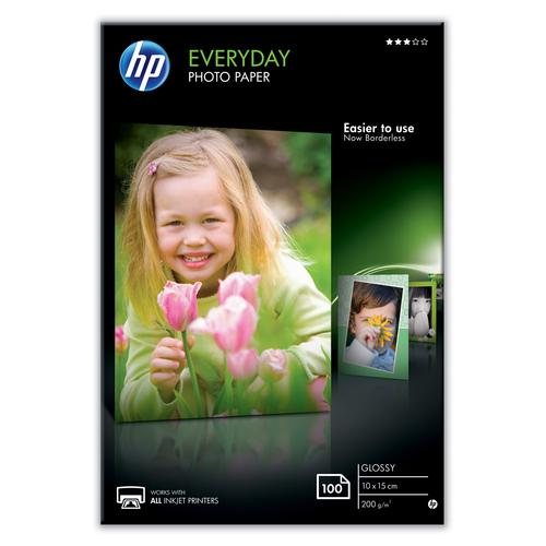 HP CR757A pak fotopapier Wit Glans productfoto