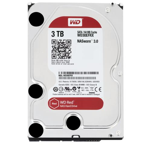 "Western Digital Red 3.5"" 3000 GB SATA III productfoto"