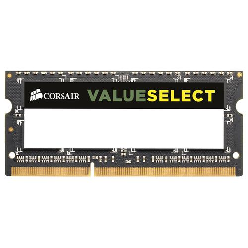 Corsair 4GB 1600MHz DDR3 SODIMM geheugenmodule 1 x 4 GB productfoto